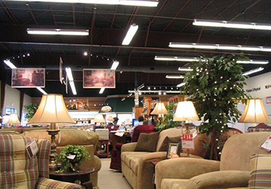 Martin Appliance Store Interior