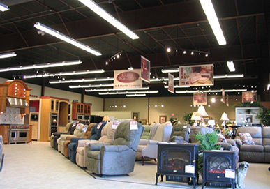 Martin Appliance Store Interior - Furniture
